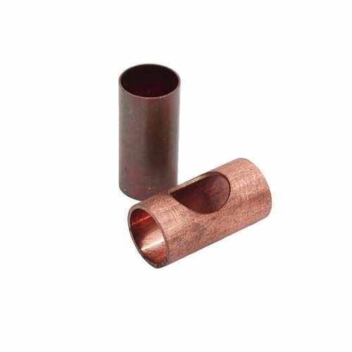 光纤圆管激光切割机切割铜管切割样品展示
