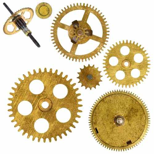 钟表行业光纤激光切割机切割精密齿轮样品展示