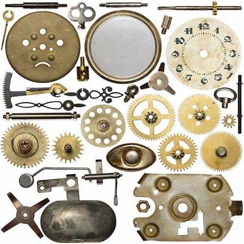 钟表行业光纤激光切割机切割样品展示