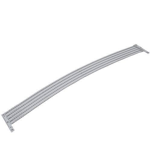 铝基板激光切割机切割LED灯板样品展示