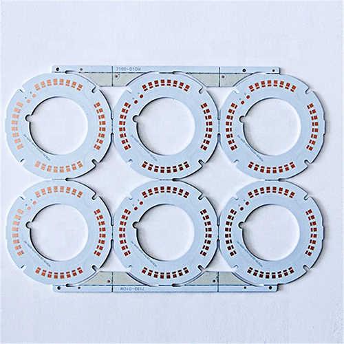 铝基板激光切割机切割铝基板板材样品