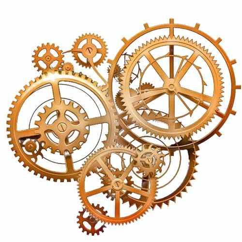 钟表激光切割机切割手表齿轮样品