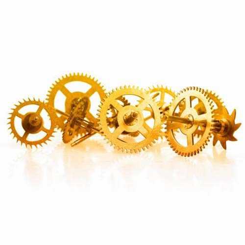 钟表激光切割机切割手表精密配件样品