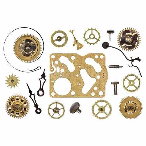 钟表激光切割机切割手表配件样品