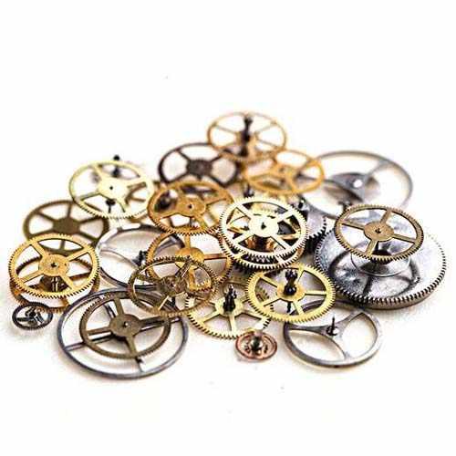 钟表激光切割机切割手表精密齿轮样品