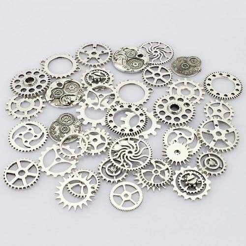 钟表行业光纤激光切割机切割精密手表齿轮样品展示