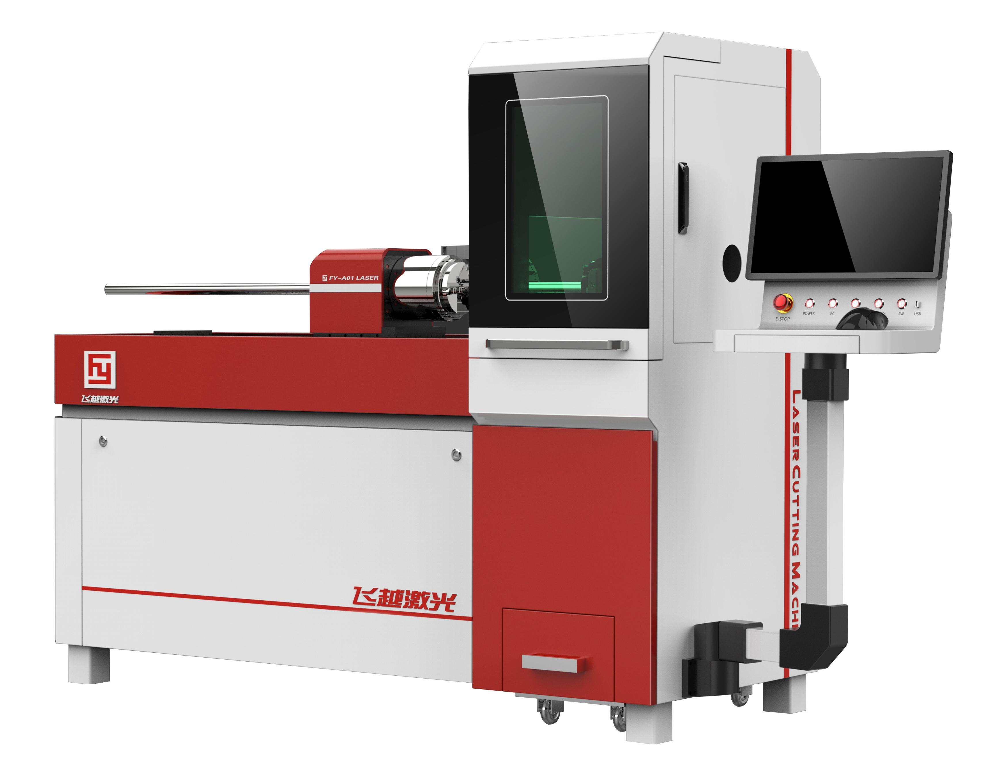 金属管材激光切割机如何更好的切割产品