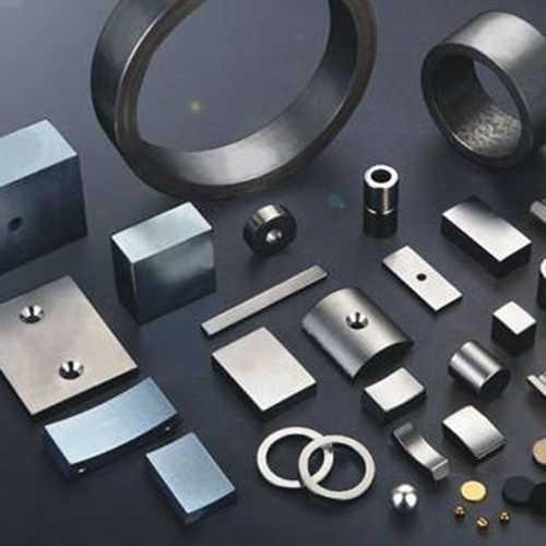 钕铁硼激光切割机切割强磁磁铁样品展示