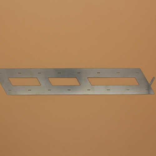 新能源激光切割机切割电动车镍片样品展示