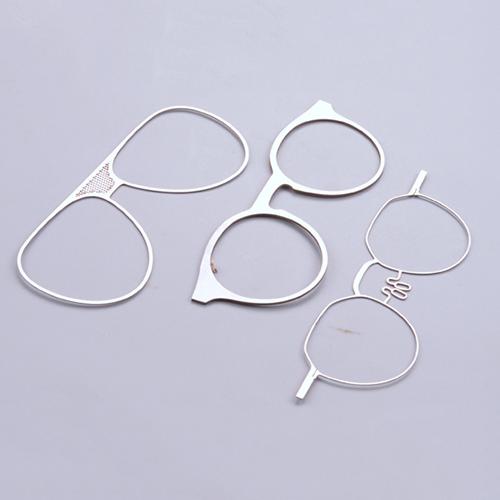 光纤激光切割机切割眼镜框样品展示