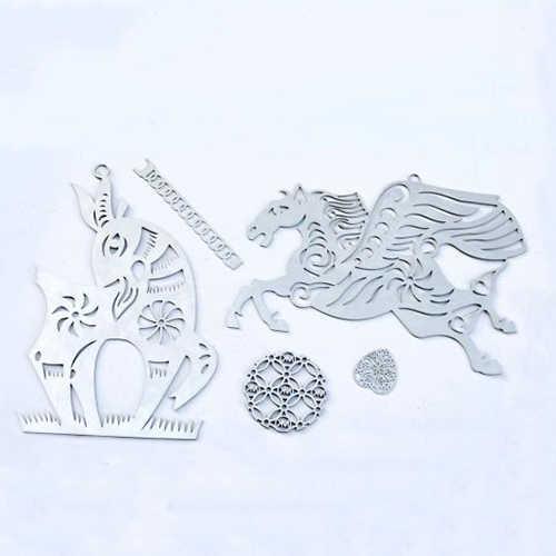 光纤激光切割机切割不锈钢制品样品展示