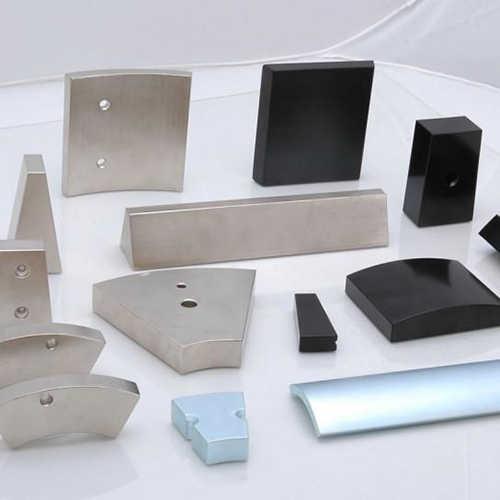 钕铁硼激光切割机切割钕铁硼稀土样品展示