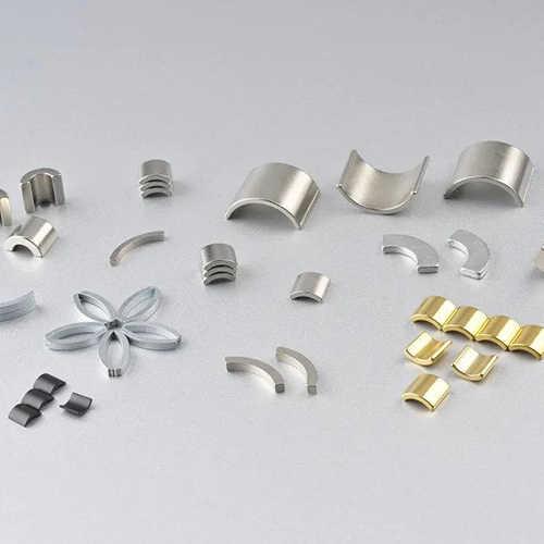 钕铁硼稀土永磁材料切割机钕铁硼样品展示