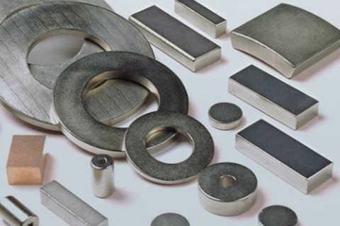 钕铁硼磁性材料激光切割展示