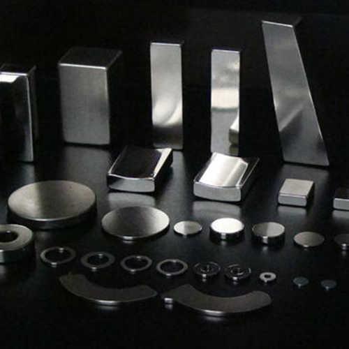 钕铁硼激光切割机切割钕铁硼样品展示