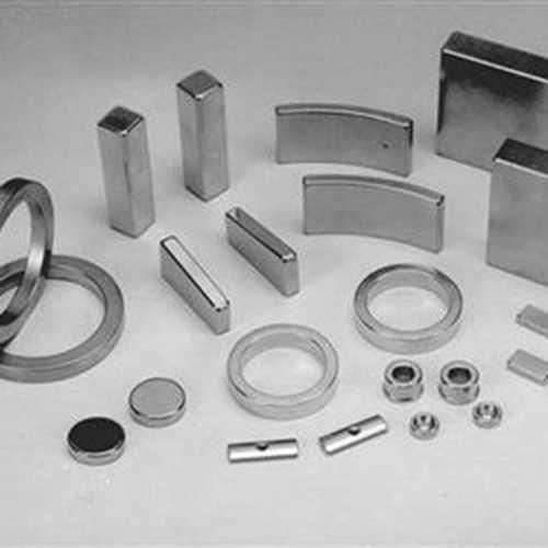 钕铁硼激光切割机切割钕铁硼永磁材料样品展示
