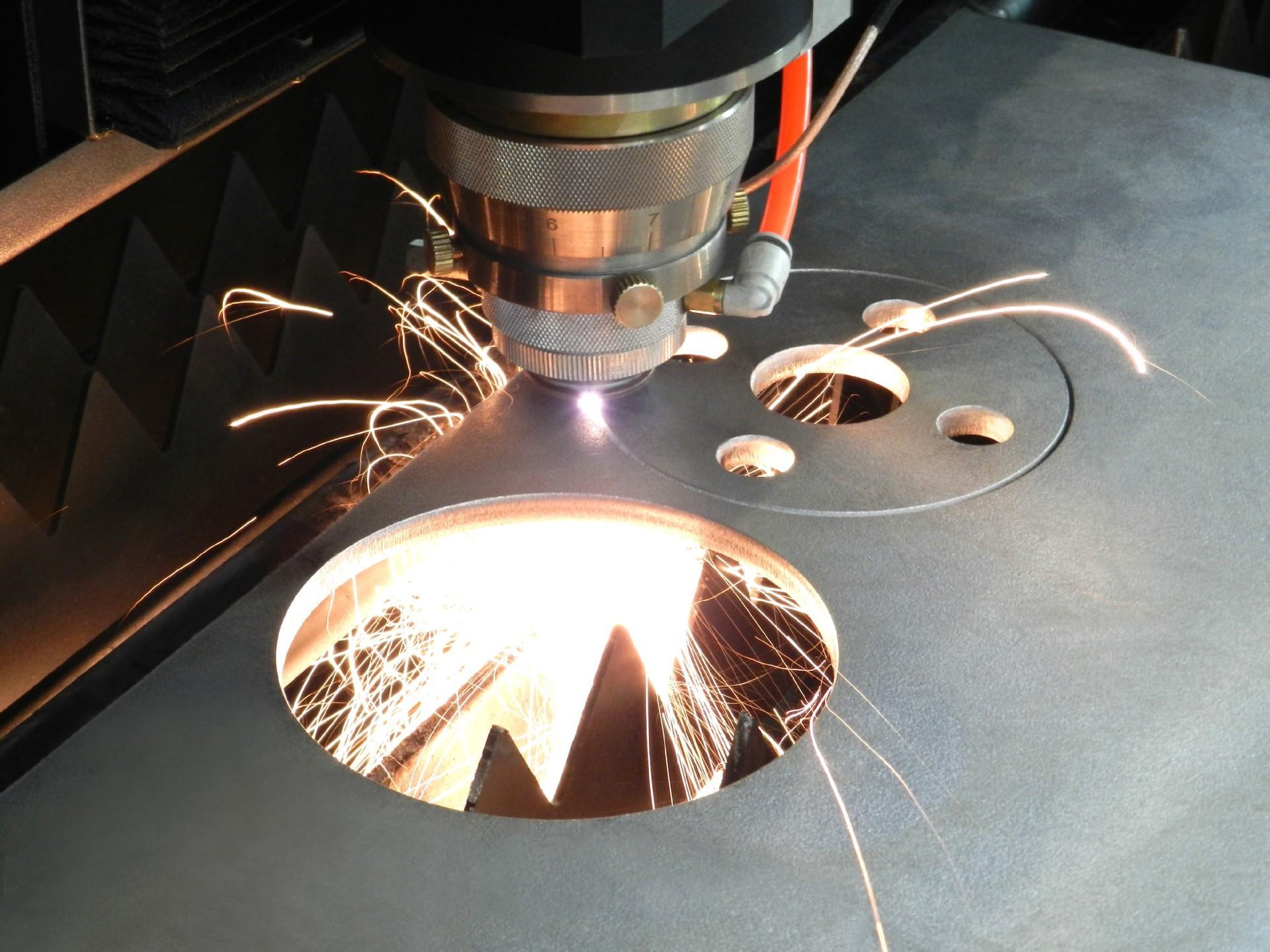 激光切割设备各结构的作用