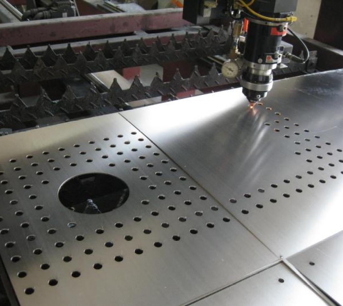 激光切割机切割高质量圆孔方法